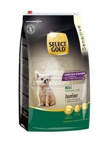 SELECT GOLD Sensitive Mini Junior Bárány, Lazac & Burgonya száraz kutyaeledel 4 kg