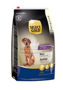 SELECT GOLD Maxi Junior Bárány, Lazac & Burgonya száraz kutyaeledel 12 kg
