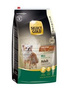 SELECT GOLD Sensitive Mini Adult Bárány & Rizs száraz kutyaeledel 4 kg