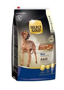 SELECT GOLD Sensitive Maxi Adult Bárány & Rizs száraz kutyaeledel 4 kg