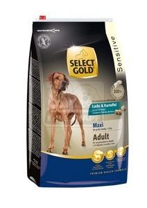 SELECT GOLD Sensitive Maxi Adult Lazac & Burgonya száraz kutyaeledel 12 kg