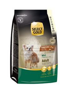 SELECT GOLD Sensitive Mini Adult Bárány & Rizs száraz kutyaeledel 1 kg