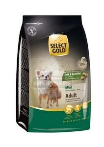 SELECT GOLD Sensitive Mini Adult Kacsa & Burgonya száraz kutyaeledel 1 kg