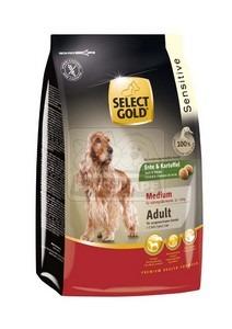 SELECT GOLD Sensitive Medium Adult Kacsa & Burgonya száraz kutyaeledel 1 kg