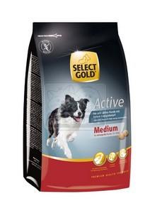 SELECT GOLD Medium Active száraz kutyaeledel 1 kg
