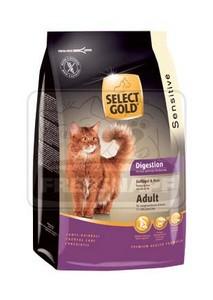 SELECT GOLD Digestion Adult baromfi & rizs szárazeledel macskáknak, 400 g