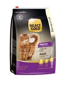 SELECT GOLD Digestion Adult baromfi & rizs szárazeledel macskáknak, 3 kg
