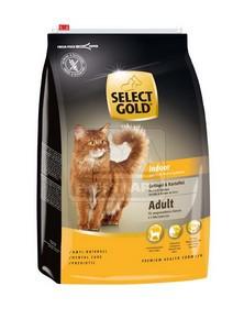 SELECT GOLD Indoor Adult baromfi & burgonya szárazeledel macskáknak, 10 kg