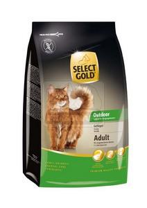 SELECT GOLD Outdoor Adult baromfi szárazeledel macskáknak, 400 g