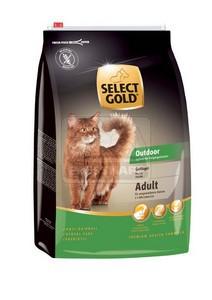 SELECT GOLD Outdoor Adult baromfi szárazeledel macskáknak, 10 kg