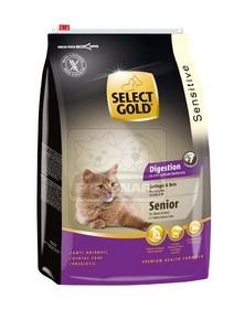 SELECT GOLD Digestion Senior baromfi & rizs szárazeledel macskáknak, 3 kg