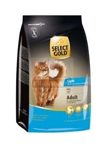 SELECT GOLD Light csirke szárazeledel macskáknak, 400 g