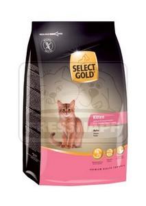 SELECT GOLD Kitten csirke szárazeledel cicakölyköknek, 400 g