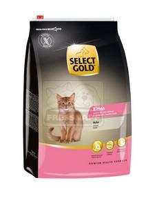 SELECT GOLD Kitten csirke szárazeledel cicakölyköknek, 3 kg