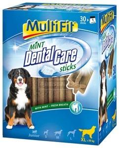 MultiFit Mint DentalCare Sticks XL fogtisztító rudak