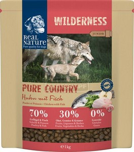 Real Nature Wilderness Pure Country Junior chicken&fish 1kg