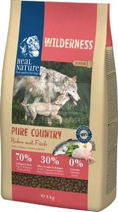 Real Nature Wilderness Pure Country Junior chicken&fish 4kg