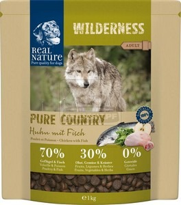 Real Nature Wilderness Pure Country Adult chicken with fish 1kg