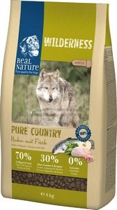 Real Nature Wilderness Pure Country Adult chicken with fish 4kg
