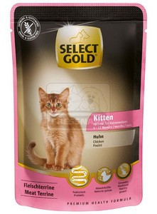 Select Gold Kitten Csirke 85g