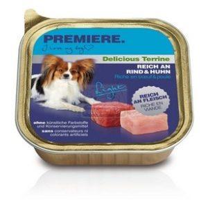 Premiere BEST MEAT terrine Light kutya tálkás eledel marhával és csirkével 150g
