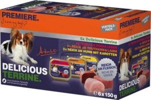 Premiere Delicious kutya tálkás multipack terrine 6x150g