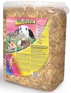 MultiFit kisemlős alom szalma 4kg / 120l