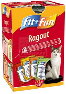 fit+fun alutasakos Multipack 12x100g
