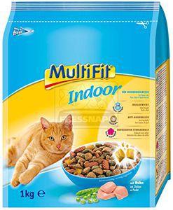 MultiFit Indoor cica száraz 1kg