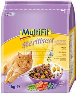 MultiFit Sterilised cica száraz 1kg