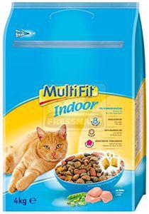 MultiFit Indoor cica száraz 4kg