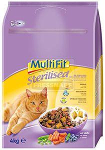 MultiFit Sterilised cica száraz 4kg