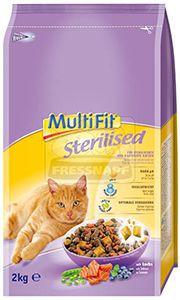 MultiFit Sterilised cica száraz 2kg