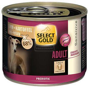 SELECT GOLD Sensitive kutyakonzerv bárány+burgonya 200g