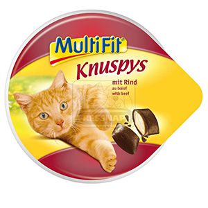 MultiFit Knuspys cicasnack marha 60g