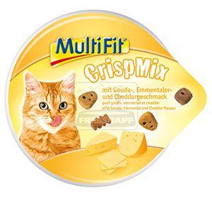 MultiFit CrispMix cicasnack gouda+emmentaler+cheddar 60g