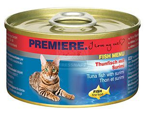 Premiere Fish Menu cicakonzerv tonhal+rák 95g
