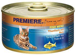 Premiere Fish Menu cicakonzerv tonhal+rizs 185g