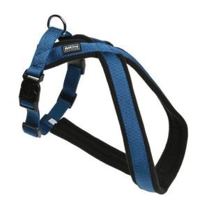 AniOne X-hám Classic nejlon kék S/40 cm