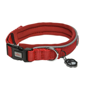 MORE FOR DOGS nyakörv Allround neoprén piros L/47-53 cm