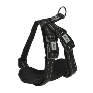 MORE FOR DOGS hám Allround neoprén fekete S/56 cm
