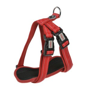 MORE FOR DOGS hám Allround neoprén piros XL/90 cm