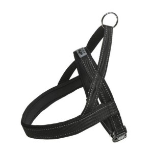 MORE FOR DOGS norvég hám Allround neoprén fekete S/40 cm