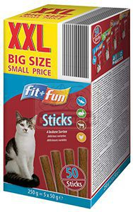 fit+fun sticks mulipack 5x50g
