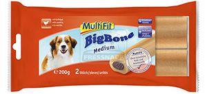 MultiFit Big Bone medium szárnyas 2db/200g