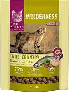 Real Nature cica száraz csirke+hal 300g