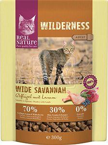 Real Nature cica junior száraz szárnyas+bárány 300g