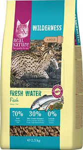 Real Nature cica száraz hal 2,5kg