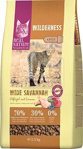 Real Nature cica junior száraz szárnyas+bárány 2,5kg