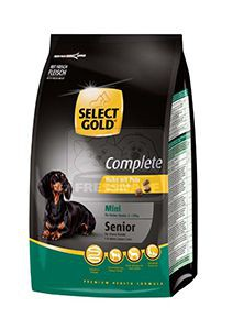 SELECT GOLD Complete Mini senior kutyaeledel csirke pulykával 1kg